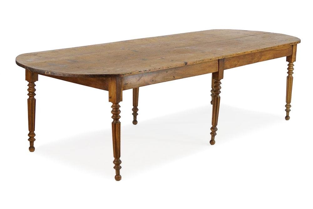A Pine Refectory Dining Table.