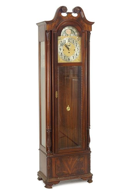 A Herschede Grandfather Clock.