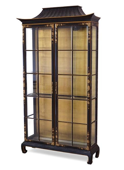 A Chinoiserie Style Cabinet.