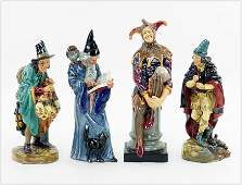 A Collection of Four Royal Doulton Figures.