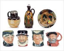 A Collection Royal Doulton Items