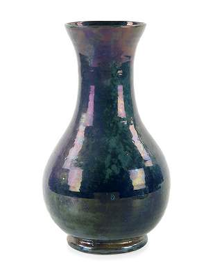 Bushey Heath Iridescent Pottery Vase Apr 26 2017 Akiba Antiques In Fl