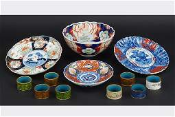 A Set of Six Imari Porcelain Bowls.