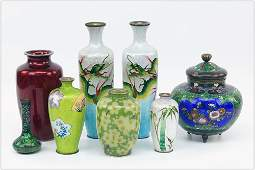 A Collection of Cloisonne.