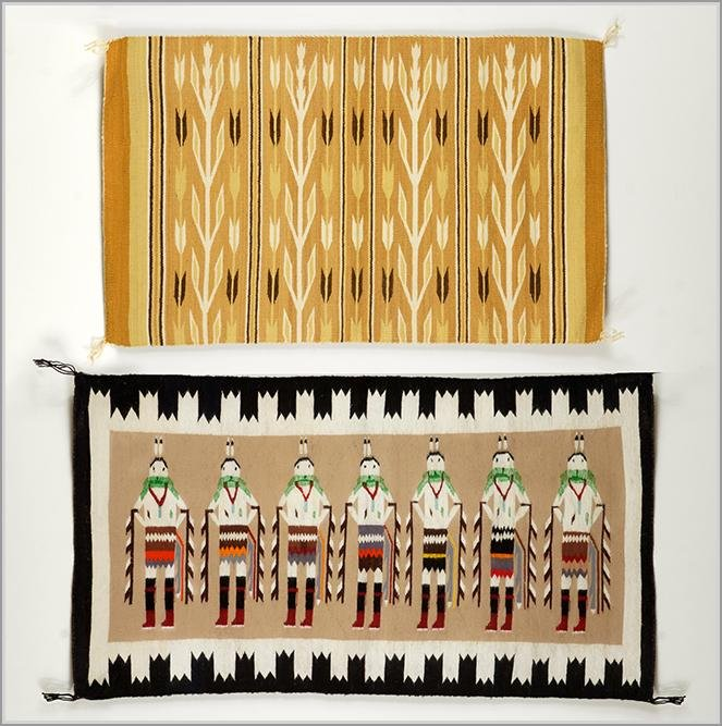 Two Native American Textiles.