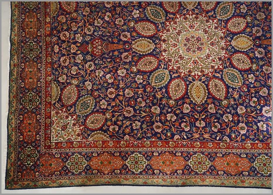 A Wool Blend Carpet.