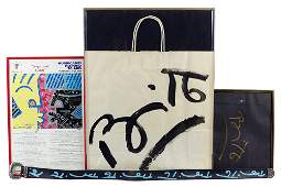 Romero Britto (Brazilian, B. 1955) Four Signed Objects.