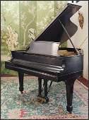 A Steinway Grand Piano.