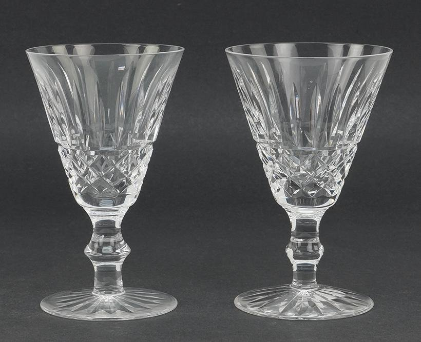 A Set of eleven Waterford Crystal Goblets.
