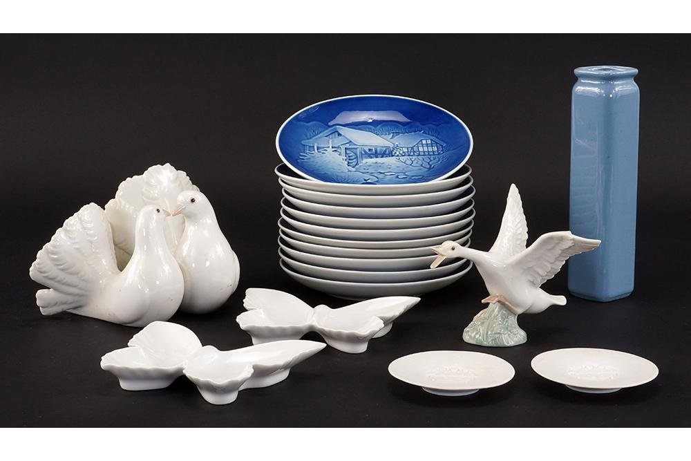 A Collection of Porcelain Decorative Items.