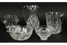 Three Waterford Crystal Items.