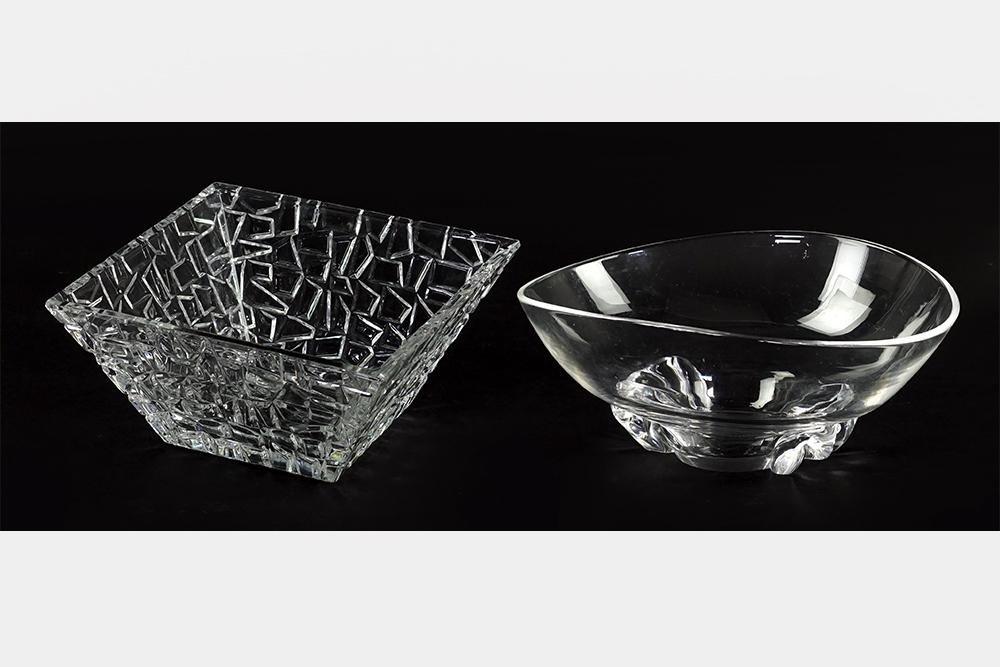 A Tiffany & Co. 'Sierra' Crystal Bowl.