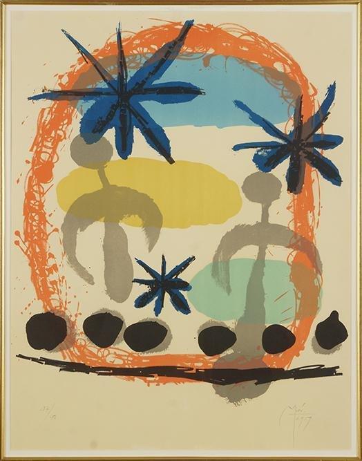 Joan Miro (Spanish, 1893-1983) Constellations