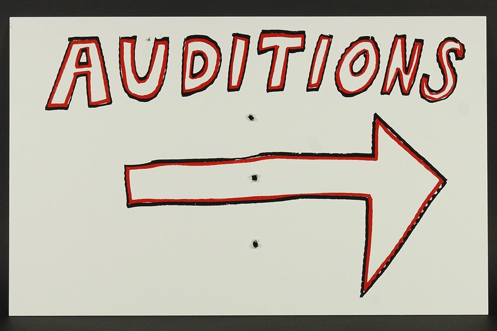 Mike Kelley (American, 1954-2012) Auditions.