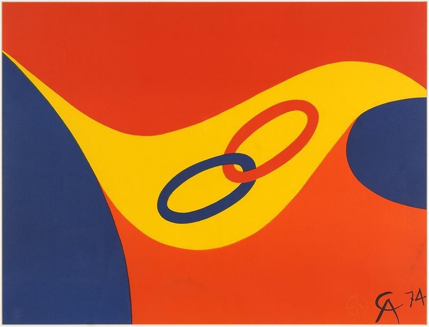 Alexander Calder (American, 1898-1976) Friendship Ring.