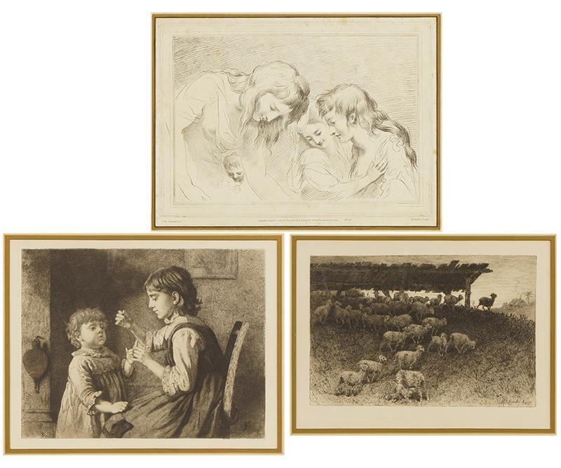 A Group of Three Prints.