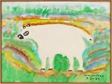 William M. Dawson (American, 1901-1990) Untitled.