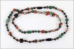 A Semi-Precious Stone Necklace.