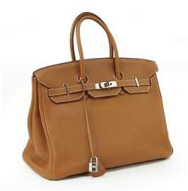 An Hermes Birkin Bag.