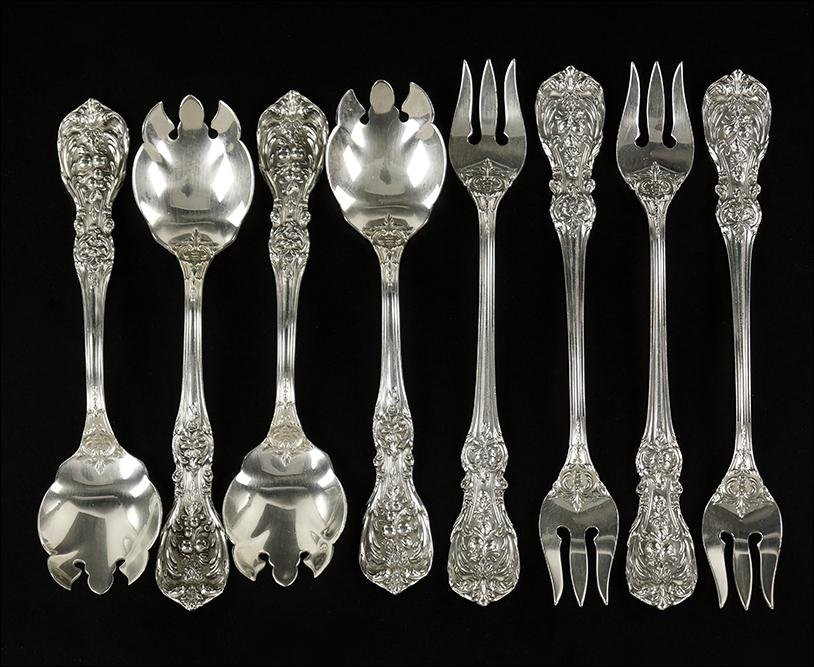 A Collection of Reed & Barton Sterling Silver Flatware.