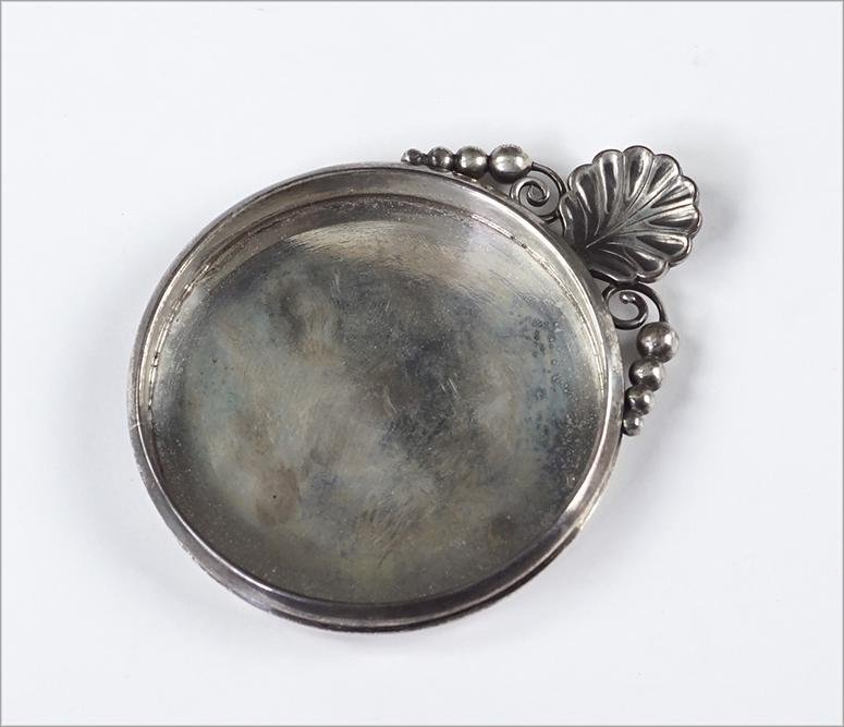 A Georg Jensen U.S.A. Sterling Silver Dish / Coaster.