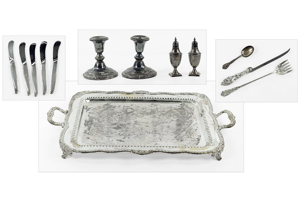 A Set of Five Towle Sterling Silver Butter Spreaders.