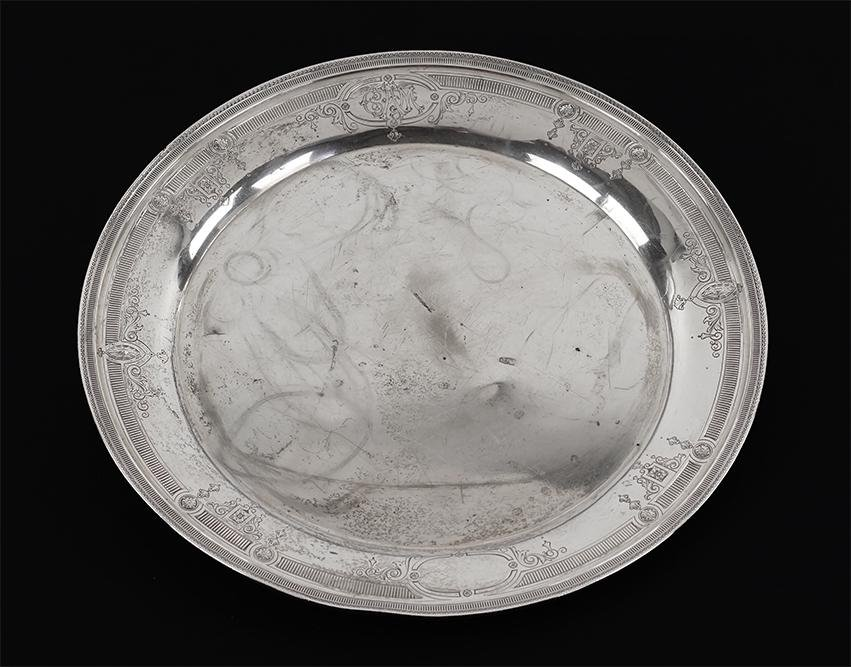 A Charles Warren Sterling Silver Tray.