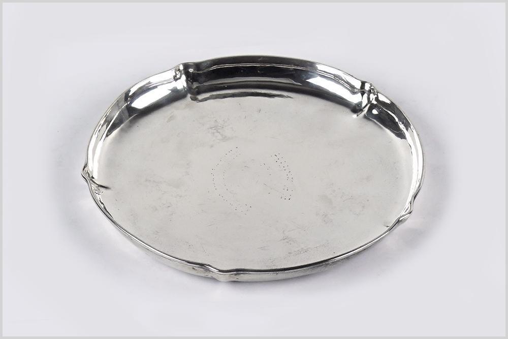 An Anna Eicher Sterling Silver Dish.