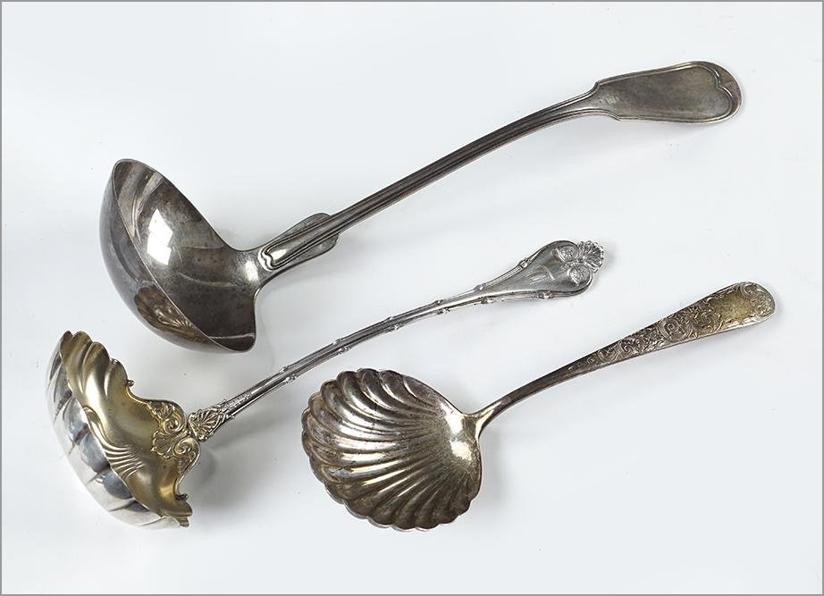 Three American Sterling Silver Serving Pieces.