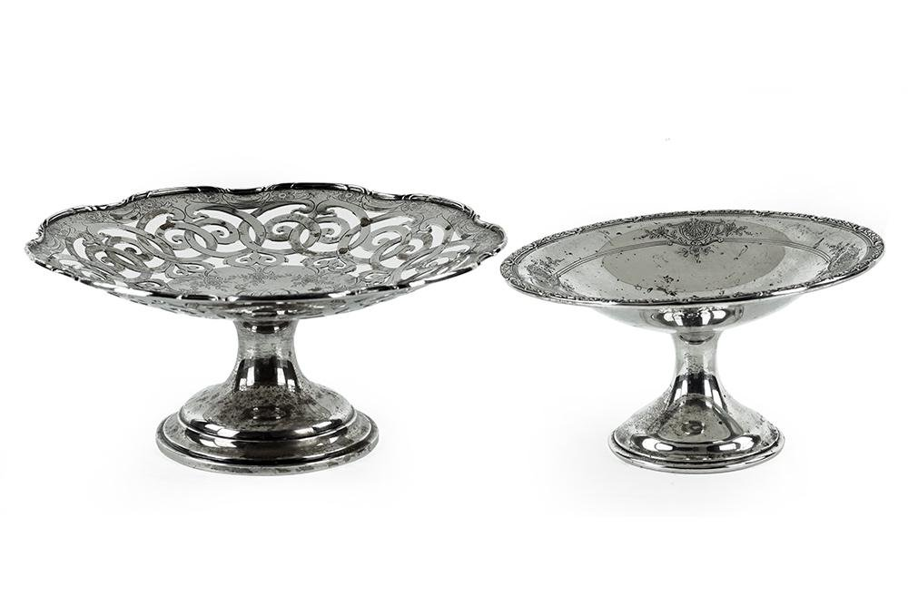 A Dominick & Haff Sterling Silver Compote.