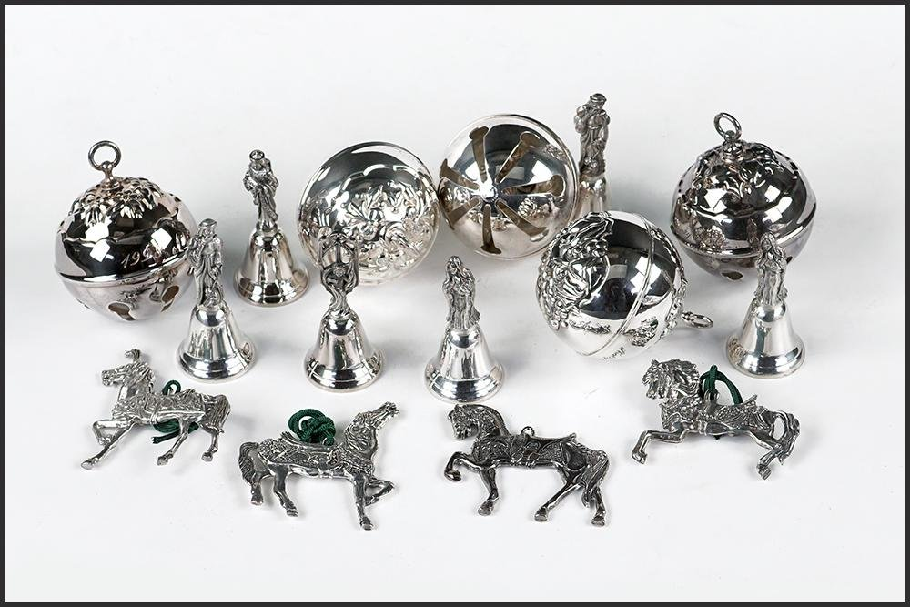 A Collection of Reed & Barton Silverplate Christmas