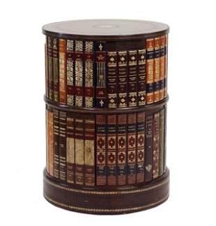 A Maitland Smith Round Book Table.