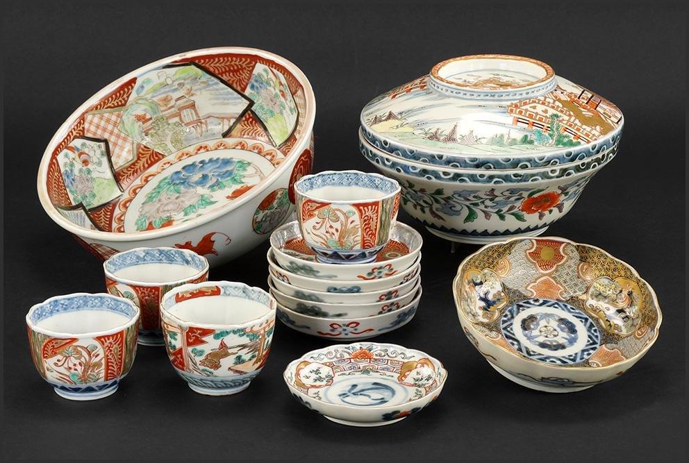A Collection of Imari Porcelain.