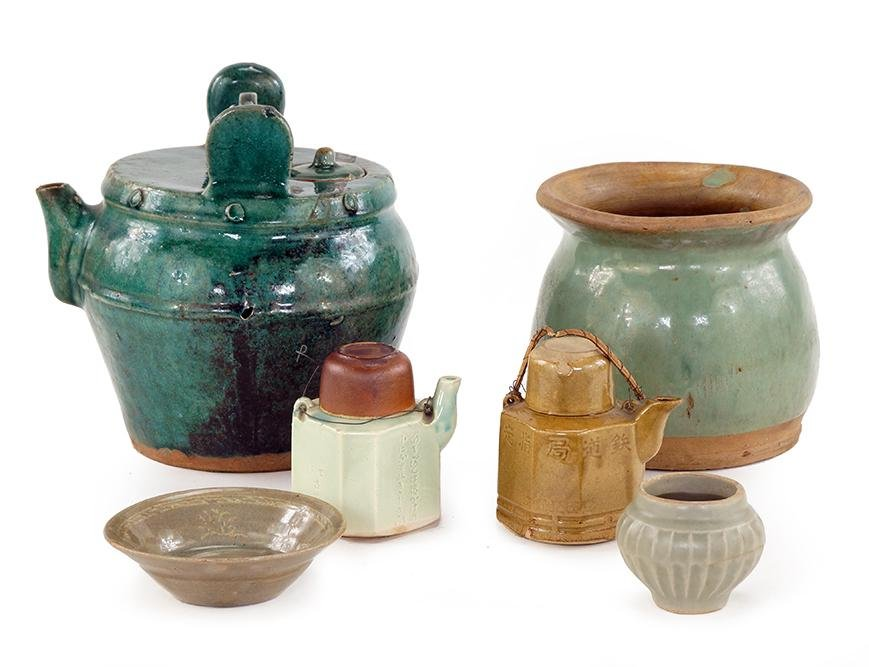 A Collection of Asian Ceramics.