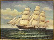H Parker British Contemporary Clipper Ship