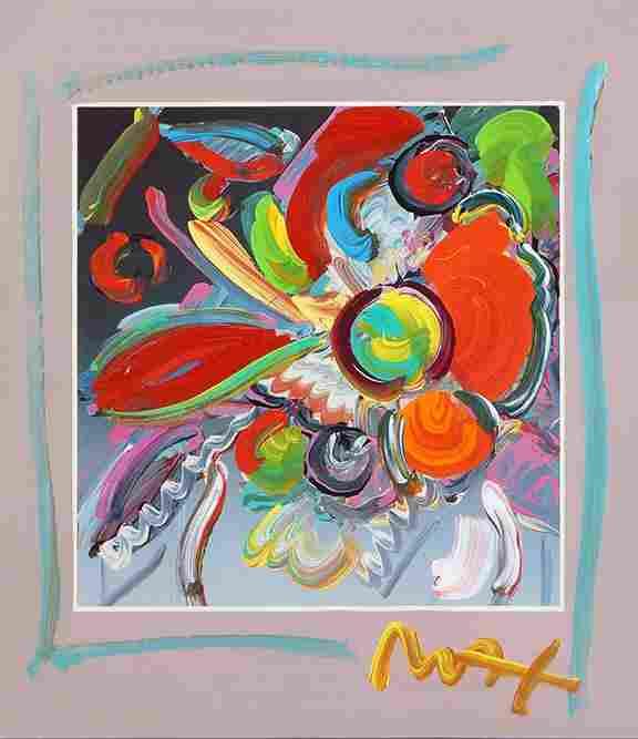 Peter Max (German-American, B. 1937) New York Flower