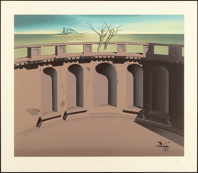 After Salvador Dali (Spanish, 1904-1989) Destino #72 -