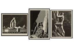 After Rockwell Kent (American, 1882-1971) Three
