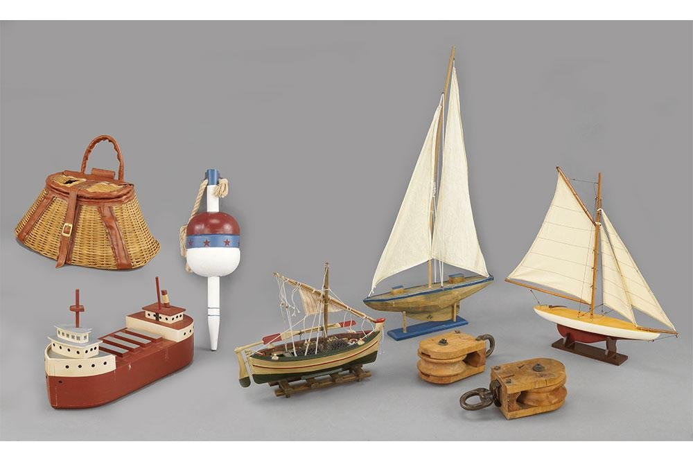 A Collection of Nautical Themed Items.