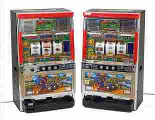 Two Japanese Sammy Slot Machines