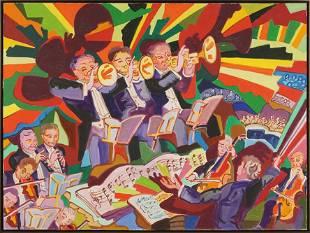 Charles Lapicque (French, 1898-1988) Le Suite en Re.