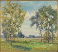 Paul L Olson American 18891981 Early Autumn