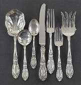 A Towle Sterling Silver Flatware Service.