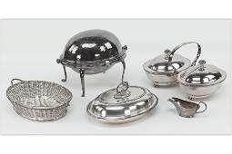 A Collection of English Silverplate.