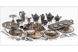 A Collection of Silverplate Table Articles.