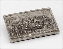 A Henryk Winograd .999 Silver Plaque.