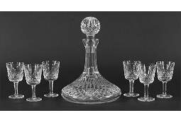 A Waterford Crystal Ships Decanter