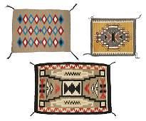Navajo Rug by Pauline Nez, Red Mesa.