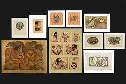 Carol Jablonsky (American, 1939-1992) Ten Color
