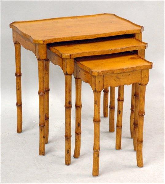 701019: PINE NESTING TABLES.